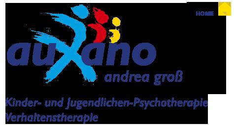 Logo: auxano - erwachsenwerden